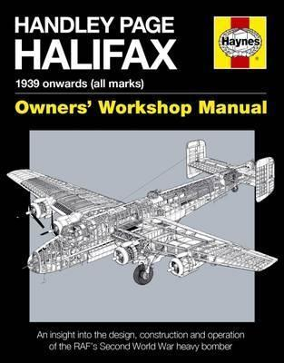 Handley Page Halifax Manual Cover Image