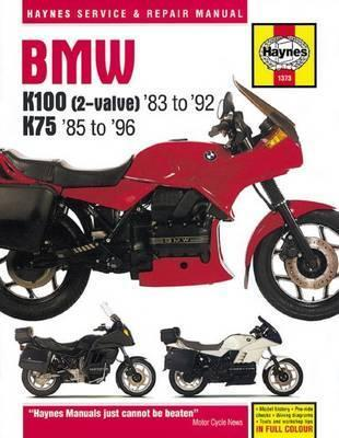 BMW K100 & 75 Motorcycle Repair Manual