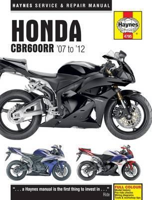 Honda Cbr600rr Motorcycle Repair Manual Haynes Publishing