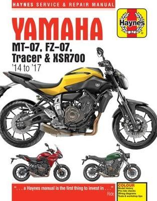 Yamaha MT-07 (Fz-07), Tracer & XSR700 Service and Repair