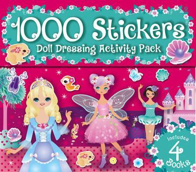 1000 Dolly Dressing Stickers