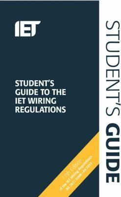 Student's Guide to the IET Wiring Regulations Cover Image