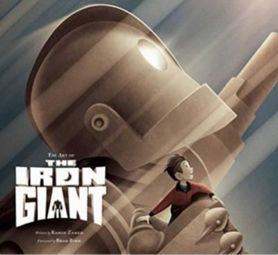 Art of the Iron Giant Cover Image
