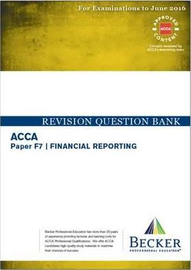 ACCA - F7 Financial Reporting (International) (for Exams Up