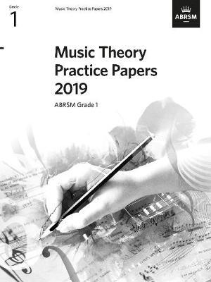 Music Theory Practice Papers 2019, ABRSM Grade 1
