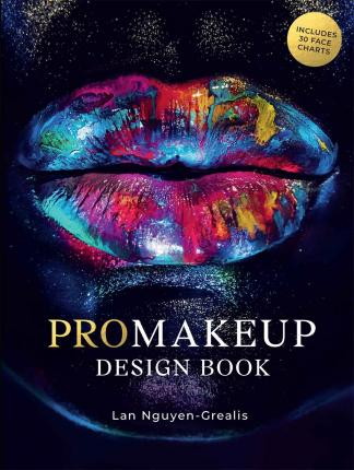 ProMakeup Design Book : Includes 30 Face Charts