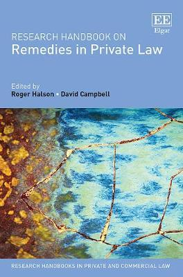 Research Handbook on Remedies in Private Law Cover Image