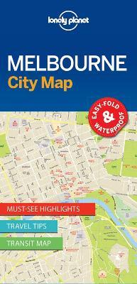 Lonely Planet Melbourne City Map
