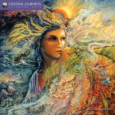 celestial journeys by josephine wall mini wall calendar 2018 art calendar
