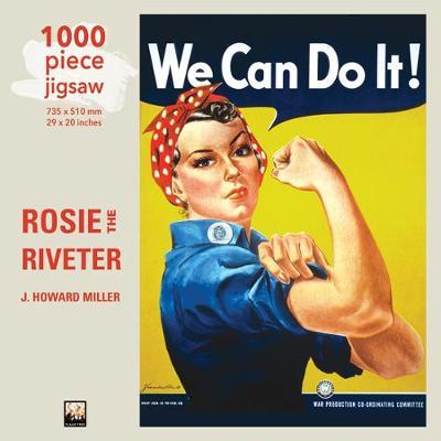 Adult Jigsaw Puzzle J Howard Miller: Rosie the Riveter Poster