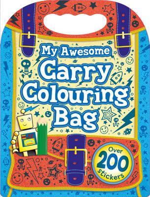 My Awesome Boys Colouring Bag