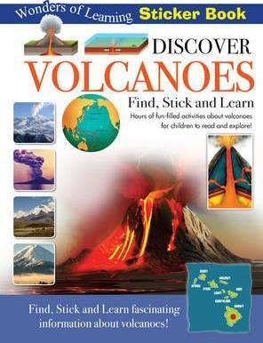 Discover Volcanoes Sticker Book
