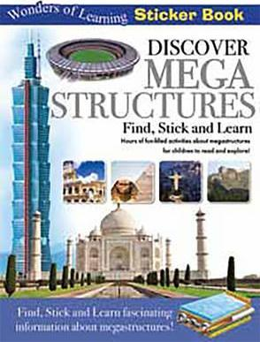 Discover Megastructures Sticker Book