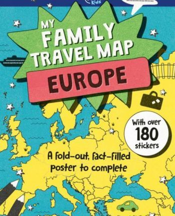 My Family Travel Map - Europe : Lonely Planet Kids ... on pa travel map, make a travel map, my trip to greece - part 2, sd travel map, create your own travel map, nc travel map, world travel map, my trips, travel map app on facebook, my trip to greece - part 1,