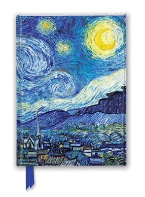 Vincent van Gogh: Starry Night (Foiled Journal)