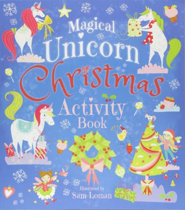 Magical Unicorn Christmas Activity Book