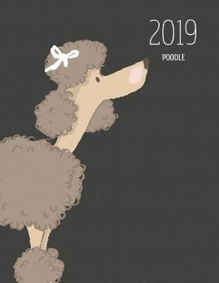 2019 Poodle : Dated Weekly Planner with to Do Notes & Dog Quotes - Poodle Brown