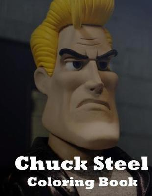 Chuck Steel Coloring Book