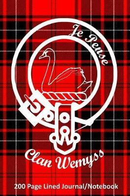 Clan Wemyss 200 Page Lined Journal/Notebook