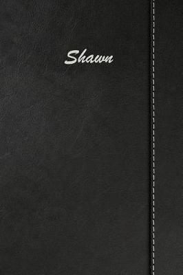 Shawn  Blank Cookbook Recipes & Notes Featuring 120 Pages 6x9 Simulated Leather Cover