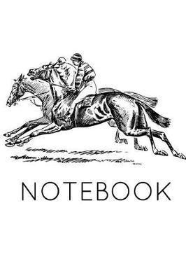 Notebook  Horse Racing Book Notepad Notebook Composition and Journal Gratitude Diary