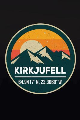 Kirkjufell  6x9 Inch Travel Size 120 Pages Lined Journal / Notebook.