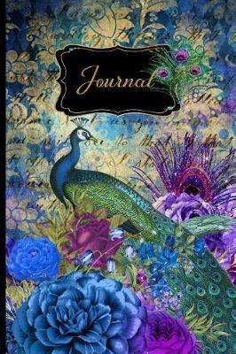 Journal  6x9 120 Page Lined Journal Peacock (Peacock Journals Volume 2)