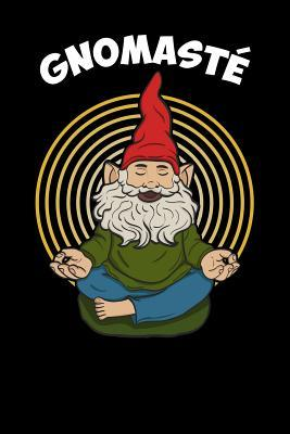 Gnomast  Yoga, College Ruled Lined Paper, 120 Pages, 6 X 9
