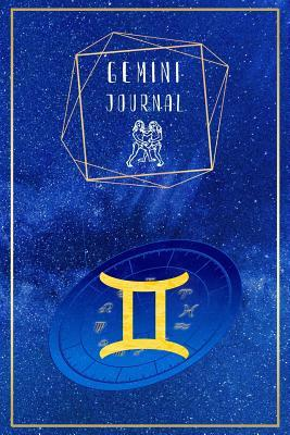 Gemini Journal  Blank Gemini Bull Zodiac Sign Journal to Write in for Creative Geminians (6x9, 110 Pages)