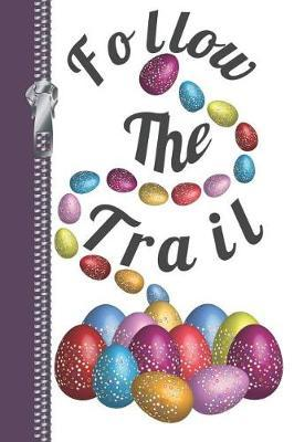 Follow the Trail  Easter Egg Hunt Sketchbook Writing Journal Combo Book