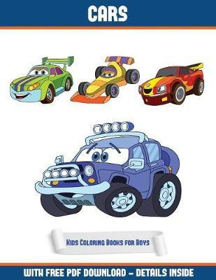 Kids Coloring Books For Boys Cars Coloring Book James