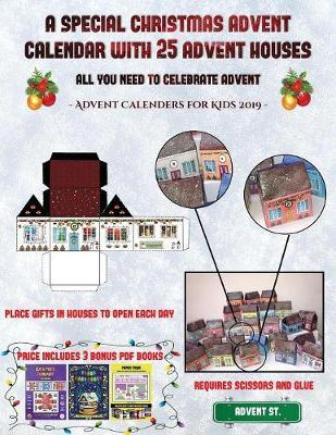 Christmas Advent House.Advent Calenders For Kids 2019 A Special Christmas Advent