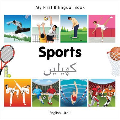 My First Bilingual Book - Sports: English-german