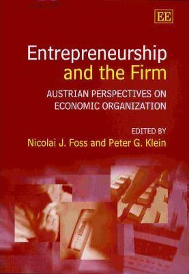 Entrepreneurship and the Firm