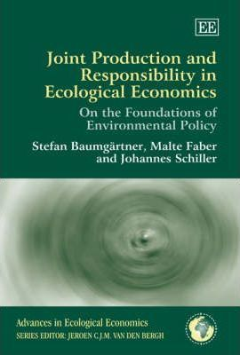 Joint Production and Responsibility in Ecological Economics