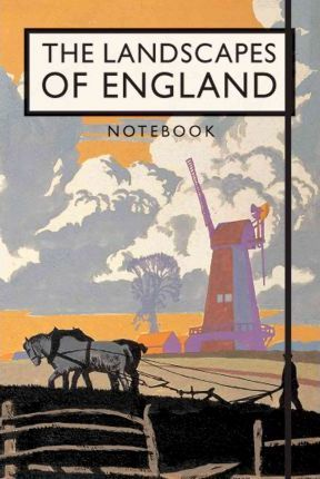 The Landscapes of England Notebook Cover Image