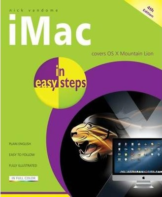 IMac in Easy Steps: Updated for OS X Mountain Lion