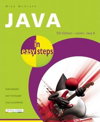 Java in Easy Steps Cover Image