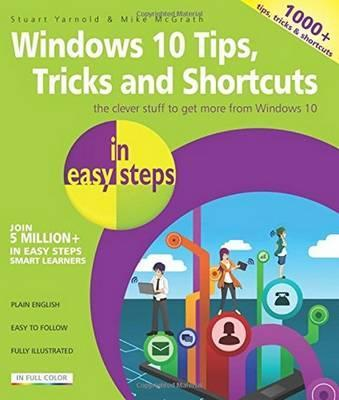 Windows 10 Tips, Tricks & Shortcuts in Easy Steps Cover Image