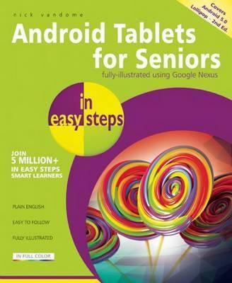 Android Tablets for Seniors in Easy Steps Cover Image