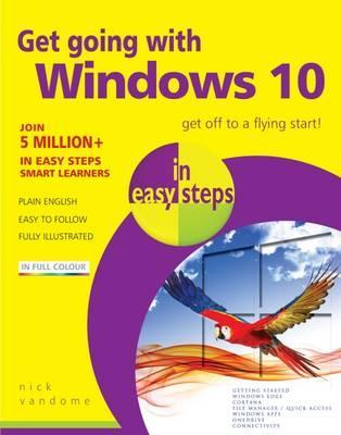 Get Going with Windows 10 in Easy Steps Cover Image
