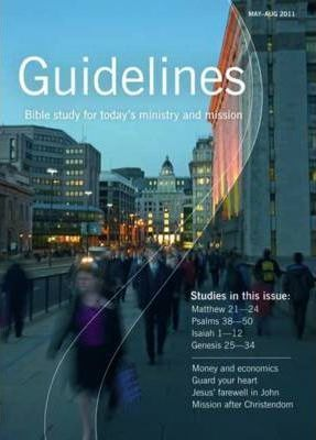 Guidelines: May-August 2011