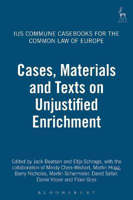Ius Commune Casebooks for the Common Law of Europe
