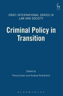 Criminal Policy in Transition