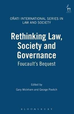Rethinking Law Society and Governance