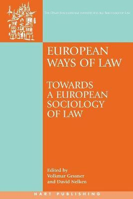 European Ways of Law