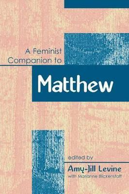 A Feminist Companion to Matthew
