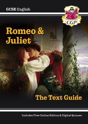 Grade 9-1 GCSE English Shakespeare Text Guide - Romeo & Juliet Cover Image