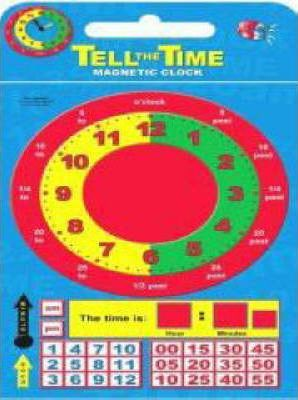 Tell the Time Magnetic Clock