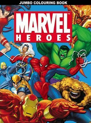 Marvel Heroes Jumbo Colouring Book : 9781842396452